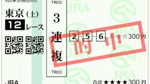【競馬予想】2019年10月19日 4回東京6日目 今日の予想成績まとめ